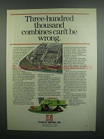 1984 Claas of America Combines Ad - Can't be Wrong