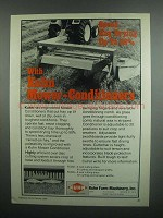 1984 Kuhn Mower Conditioners Ad - Speed Hay Drying