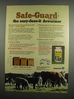 1984 Hoechst Safe-Guard Ad - Easy-Does-It Dewormer