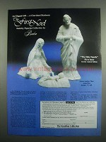 1984 Boehm The Holy Family Porcelain Ad