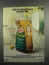 1984 Pine-Sol Cleanser Ad - What Clean Smells Like
