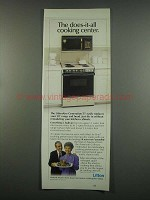1984 Litton LittonAire Generation II Cooking Center Ad