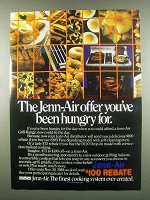 1984 Jenn-Air S105 and D120 Grill-Range Ad