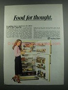 1984 Southern States Hotpoint Refrigerator Ad - Food