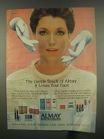 1984 Almay Hypo-Allergenic Cosmetics Ad - Gentle Touch