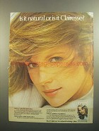 1984 Clairol Clairesse Color Ad - Is It Natural?