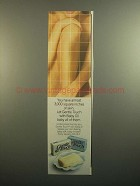 1984 Gentle Touch Soap Ad - 3,000 Square Inches of Skin