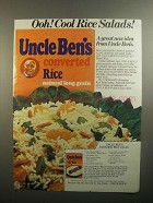 1984 Uncle Ben's Converted Rice Ad - Paradise Salad