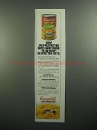 1984 Campbell's Low Sodium Chicken with Noodles Soup Ad