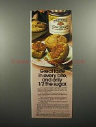 1984 Smucker's Low Sugar Spreads Ad - Great Taste