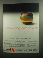 1984 Safeway Stores Ad - The Apple of Your Eye
