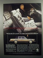 1984 Chrysler Fifth Avenue Ad - An Island of Luxury