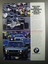 1984 BMW 528e Ad - For a Gridlock Society