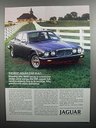 1985 Jaguar Series III XJ6 Car Ad - Best Ever Built