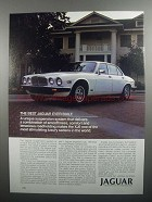 1984 Jaguar XJ6 Ad - The Best Ever Built