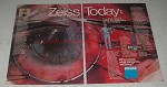 1984 Zeiss Operating Microscope Ad - Zeiss Today