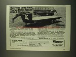 1984 Neckover Livestock and Flatbed Trailers Ad