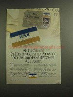 1984 VISA Credit Card Ad - Distinguished Service