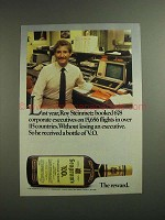 1984 Seagram's V.O. Whisky Ad - Roy Steinmet Booked