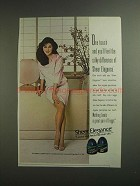 1984 L'eggs Sheer Elegance Pantyhose Ad - One Touch