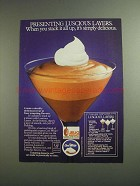 1984 Jell-O Pudding and Cool Whip Ad - Luscious Layers