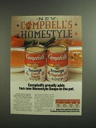 1984 Campbell's Homestyle Soup Ad - Proudly Adds