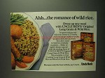 1984 Uncle Ben's Original Long Grain & Wild Rice Ad