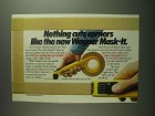 1984 Wagner Mask-It Ad - Nothing Cuts Corners Like