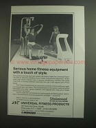 1984 Universal PowerPak 300 and Tredex Treadmill Ad