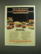 1984 Tappan Microwave Ad - A Built-in Browner