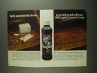 1984 Old English Scratch Cover Furniture Polish Ad
