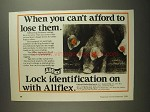 1984 Allflex Hog Producer Eartags Ad - Can't Lose