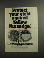 1984 Monsanto Lasso Ad - Yellow Nutsedge