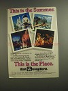 1984 Walt Disney World Ad - This is The Summer