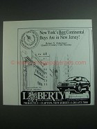 1984 Liberty Lincoln-Mercury Ad - New York's Best