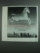 1984 Pocket Books Winter's Tale by Mark Helprin Ad