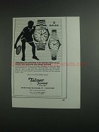 1984 Talner Rolex Day-Date and Lady-Datejust Watch Ad