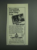 1984 Atari Computer Camps Ad - Everything You Expect