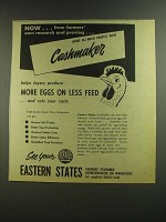 1955 Eastern States Cashmaker Feed Ad