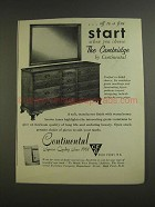 1955 Continental Furniture Ad - The Cambridge Dresser