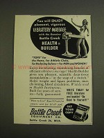 1955 Battle Creek Health Builder Vibratory Massage Ad