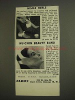 1955 Elron Heals Heels and Nu-Chin Beauty Band Ad
