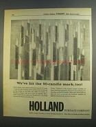 1956 Holland Furnace Company Ad - Hit 50-Candle Mark