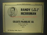 1956 Randy (Big Payoff) Merriman Ad - CBS-TV