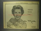 1956 Julia Meade Ad - Television Theatre Films