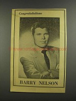 1956 Barry Nelson Ad - Variety 50th Anniversary