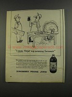 1956 Sunsweet Prune Juice Ad - I Never Forget