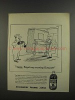 1956 Sunsweet Prune Juice Ad - Henry Syverson Cartoon