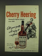 1956 Cherry Heering Liqueur Ad - All Your Guests