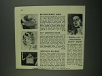 1956 Elron Nu-Chin Beatuy Band, Bra-Bank & Wings Ad